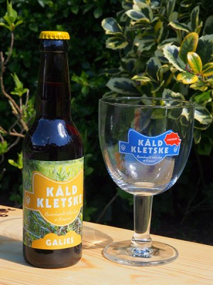 Half november weer verkrijgbaar: Kâld Kletske Galjes, bjusterbaarlik lekker bier út Burgum.