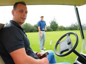 Ruben Dijkstra weet alles van koffie en golf.